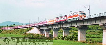 南昆铁路改造,主要是围绕牵引供电系统的扩能进行的,因为这条铁路在