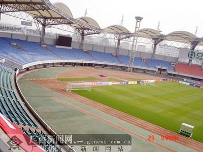 皇岛市积极筹备迎接2008年奥运会足球比赛(图