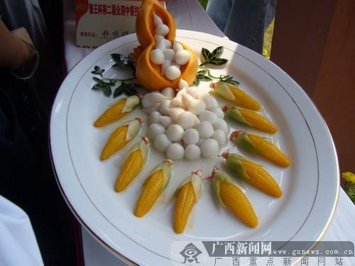 第二届全国中华技v全国美食作品之二代理商山东省食品华美图片