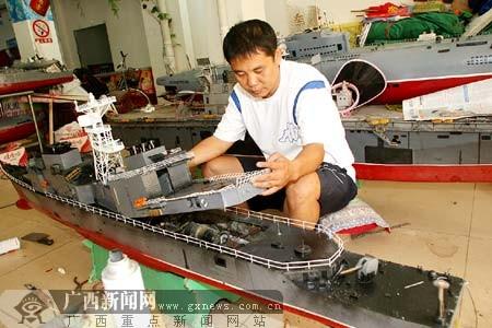 爱好者船模档位受追捧图纸里藏多国仓库(图之家数万能表用的舰队图片