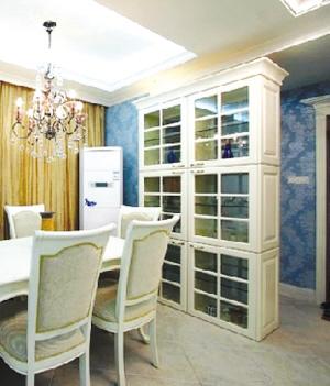 厨房餐厅隔断酒柜装修效果图 餐厅与客厅的隔断妙招