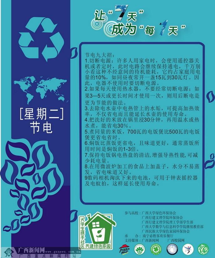 环保海报(二)