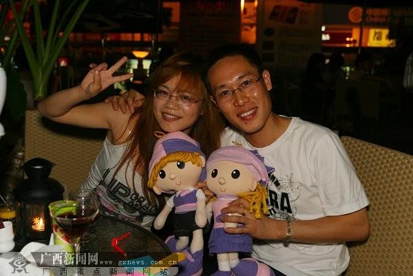 记者邓昶)8月26日,广西新闻网红豆社区在南宁饭店咖啡广场举办的单身