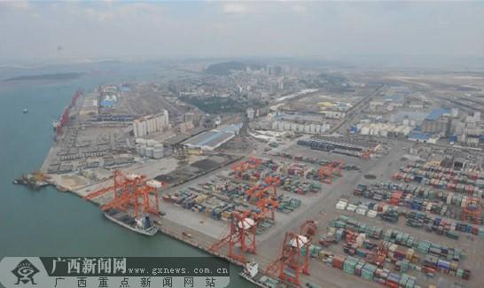广西北部湾经济区地图
