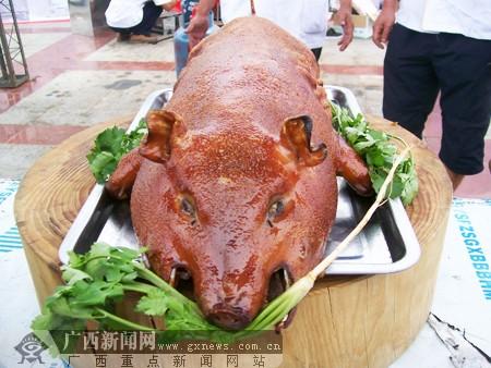 明宝食品公司:环江香猪