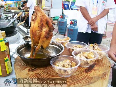 竹林丰:钢管鸡