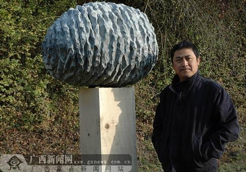 著名青年雕塑家张燕根赴比利时创作小记