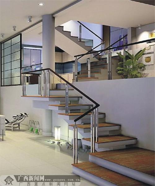 跃层式住宅是近年来推广的一种新颖住宅建筑形式.图片