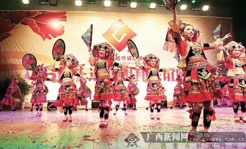 广西日报传媒集团举办迎春晚会