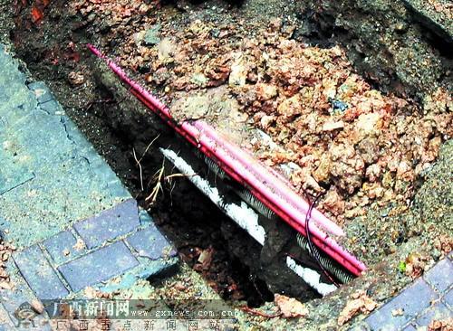 邕城地下管线错综复杂 五象新区或建综合管廊