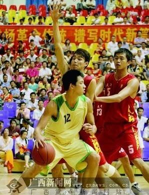 """广西""""拔群杯""""篮球赛谢幕 东道主男女双双拔头筹"""