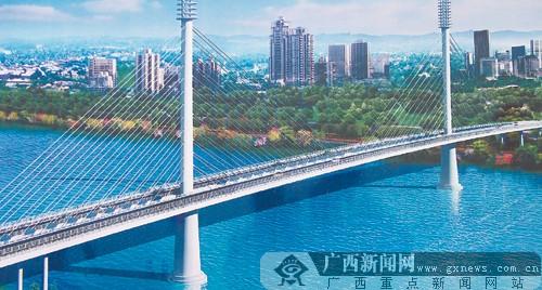 五象大桥设计图.