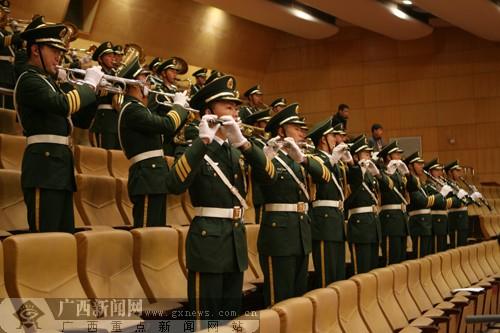 军乐队奏国歌