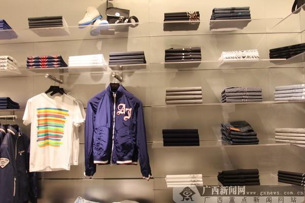 广西首家armani jeans(阿玛尼牛仔)正式开业