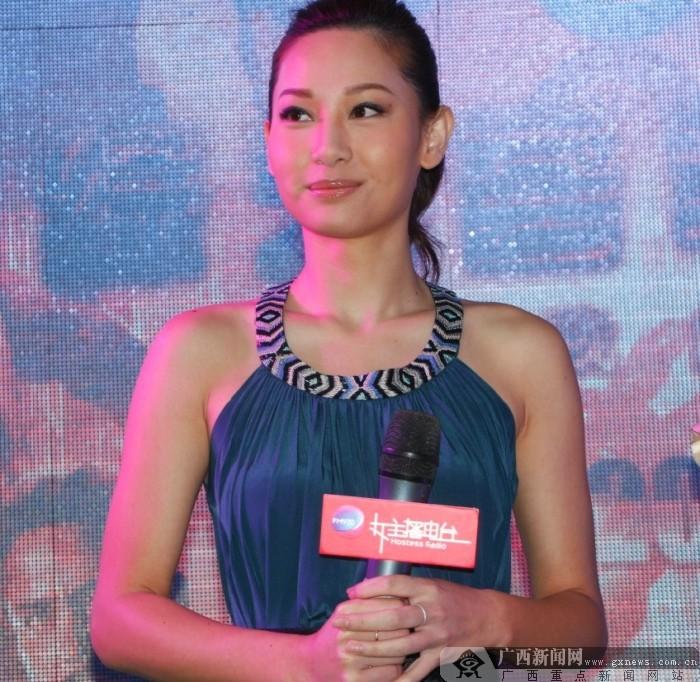 TVB当家明星徐子珊现身东盟车展(图)
