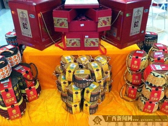 第六届广西(南宁)春茶节开幕 设有300个免费展位