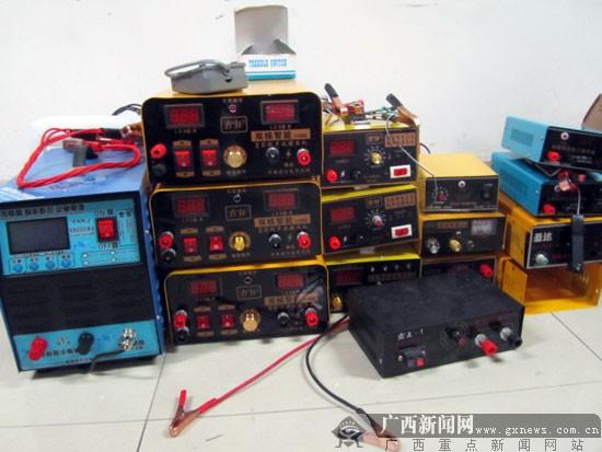 梧州:出租房里制售激光捕猎机 涉案100多万(图)