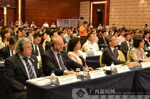 """""""广西-香港共同拓展国际市场""""合作论坛于南宁举行"""