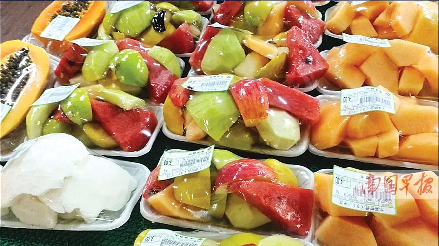 超市鲜切苹果为何两天不变色?