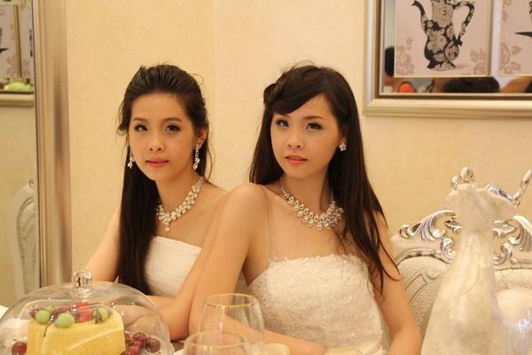 双胞胎姐妹花决赛引众目