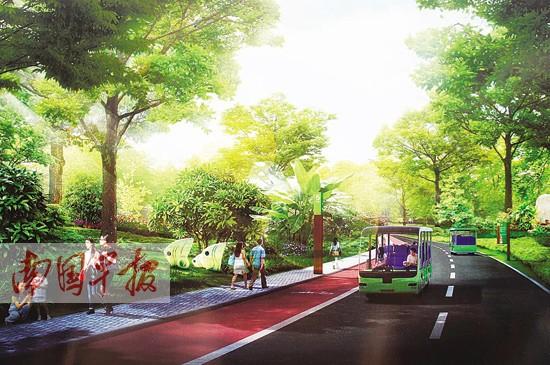 南宁青秀山将打造绿色慢行通道 多条绿道美景各异