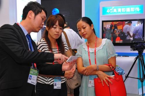 第十届中国-东盟博览会上移动4G受青睐(图)