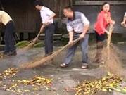 科技厅到融水开展清洁乡村活动
