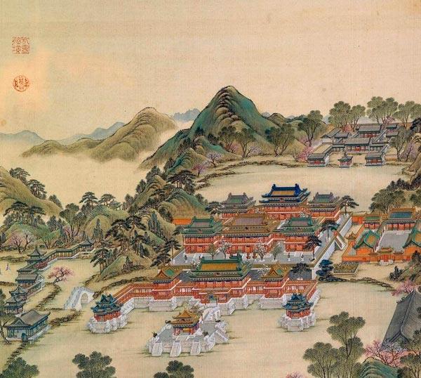 震翻唐朝诗人的皇宫 古代宫殿有多奢华?图片