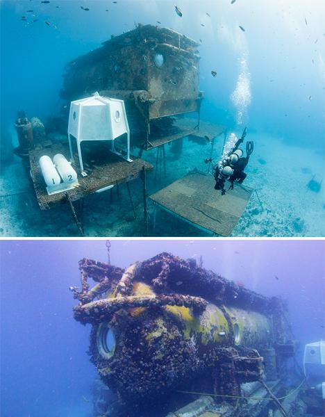 佛罗里达群岛的水瓶座礁石基地