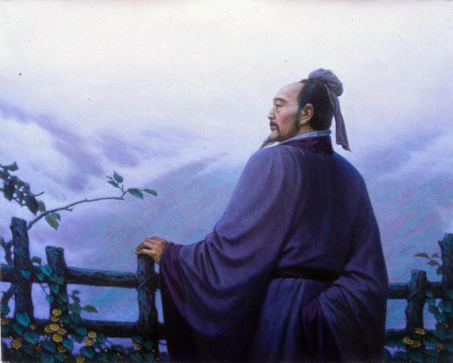 采菊东篱下・陶渊明