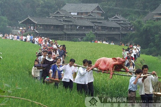 2014春节去哪:去广西侗乡体验奇异民风民俗!