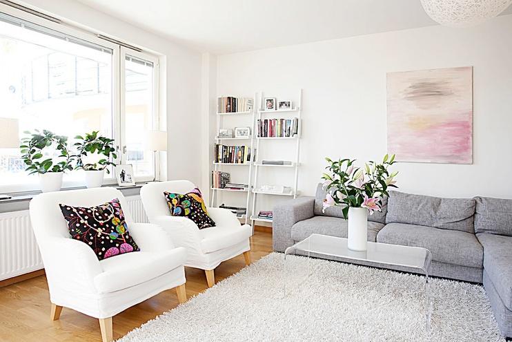 6万搞定90平米三居室 简约装修自然之美高清图片