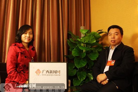 张千里谈广西高铁建设:广西将实现10小时进京进沪