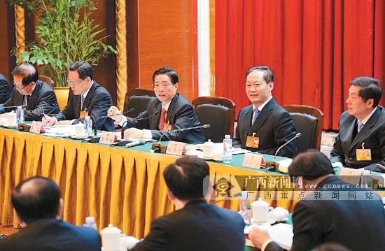 郭声琨参加广西代表团审议:广西的明天一定更美好