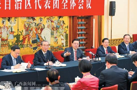 张德江参加广西代表团审议:八桂发展前景会更美好