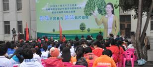 广西百千万志愿者结核病防治知识传播活动启动