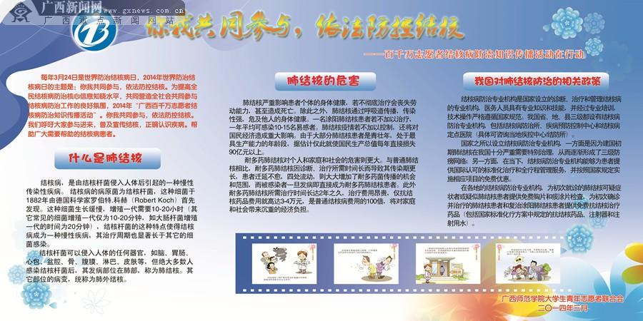 结核病防治知识宣传展板设计(10/13)