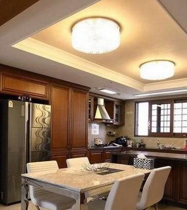 简约式厨房装修 7款时尚样板房案例高清图片