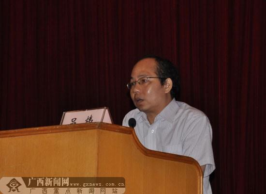 广西疾控中心副主任吕炜