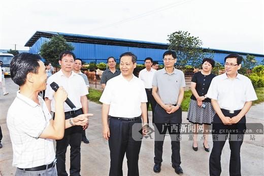 武宣县:走群众路线 筑绿水仙城