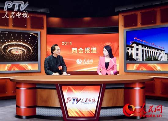 """广西中医药大学校长""""唐农""""做客人民网"""
