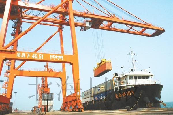北海港口吞吐量增长快