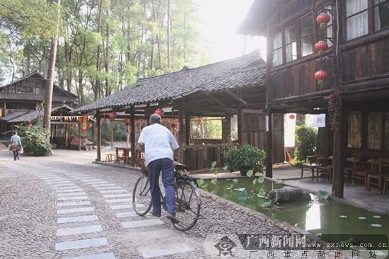 走进柳州君武森林 体验原味民俗风情(组图)-广西新闻网