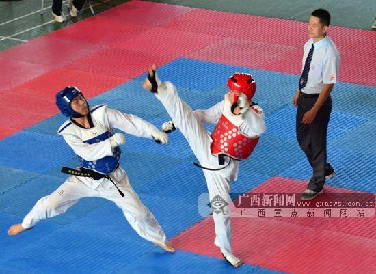 2014年中国大学生跆拳道锦标赛落幕(图)视频规模市场图片