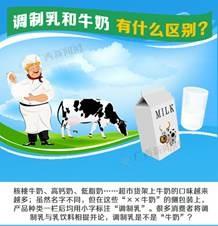 [图解]调制乳和牛奶有什么区别?