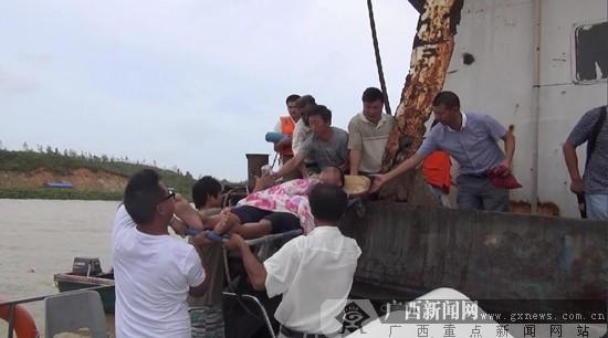 """广西新闻网钦州9月17日讯(通讯员 王胜科 丁严燊)台风""""海鸥&rd"""