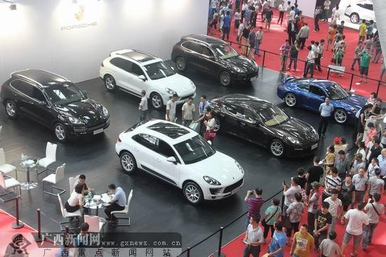第四届中国-东盟(柳州)汽博会开幕 300款车型参展