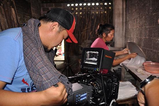 央视纪录片《稻之道》摄制组到宾阳县拍摄