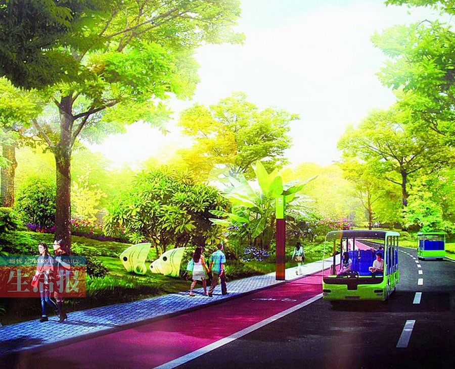 未来南宁将建绿道33条 市民骑行散步赏好风景(图)