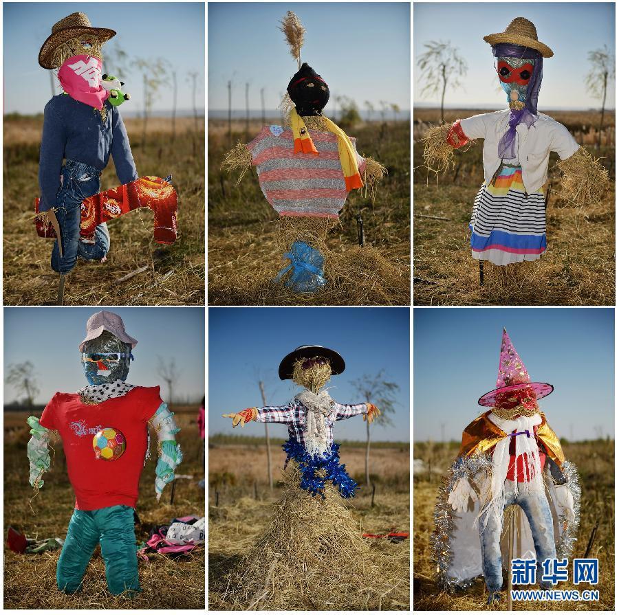 小学生diy创意稻草人 体验创作乐趣图片